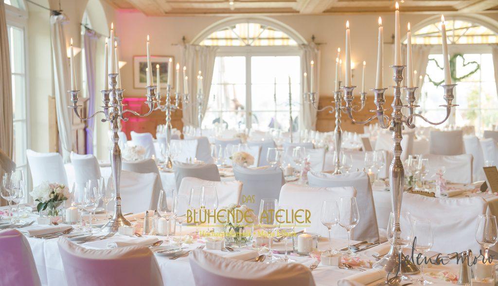 Aschbacher Hof, Hochzeitsdekoration, Tischdekoration, Brautstrauß, Dekorationskonzepte