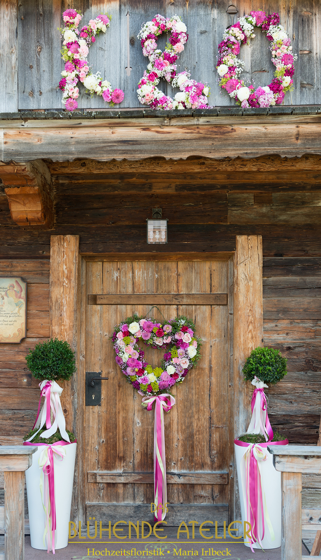 Nachbildung Brautstrauss Aus Seidenblumen Das Bluhende Atelier