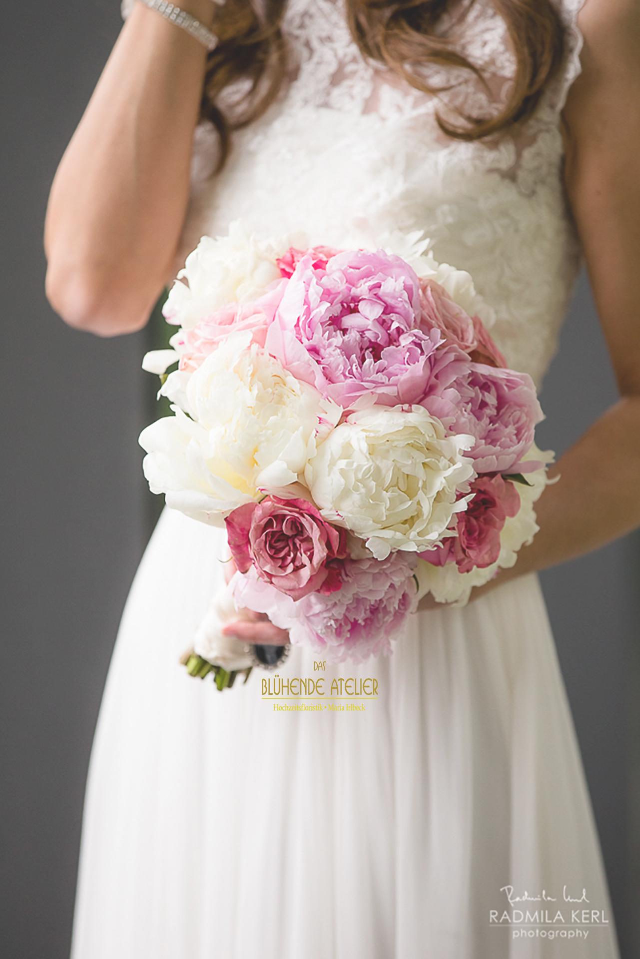 Brautstrauss Rosa Pastellig Juni Hochzeit Das Tegernsee Kopie Kopie