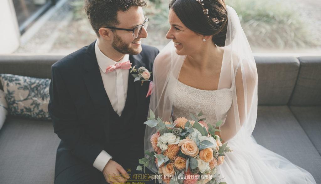 Brautstrauß, Traumhochzeit, Wedding, Das blühende Atelier, München,
