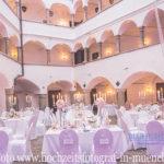 Schloss Amerang, Chiemgau, Hochzeitsdekoration, Tischdekoration, Brautstrauß, Dekorationskonzepte, Das blühende Atelier