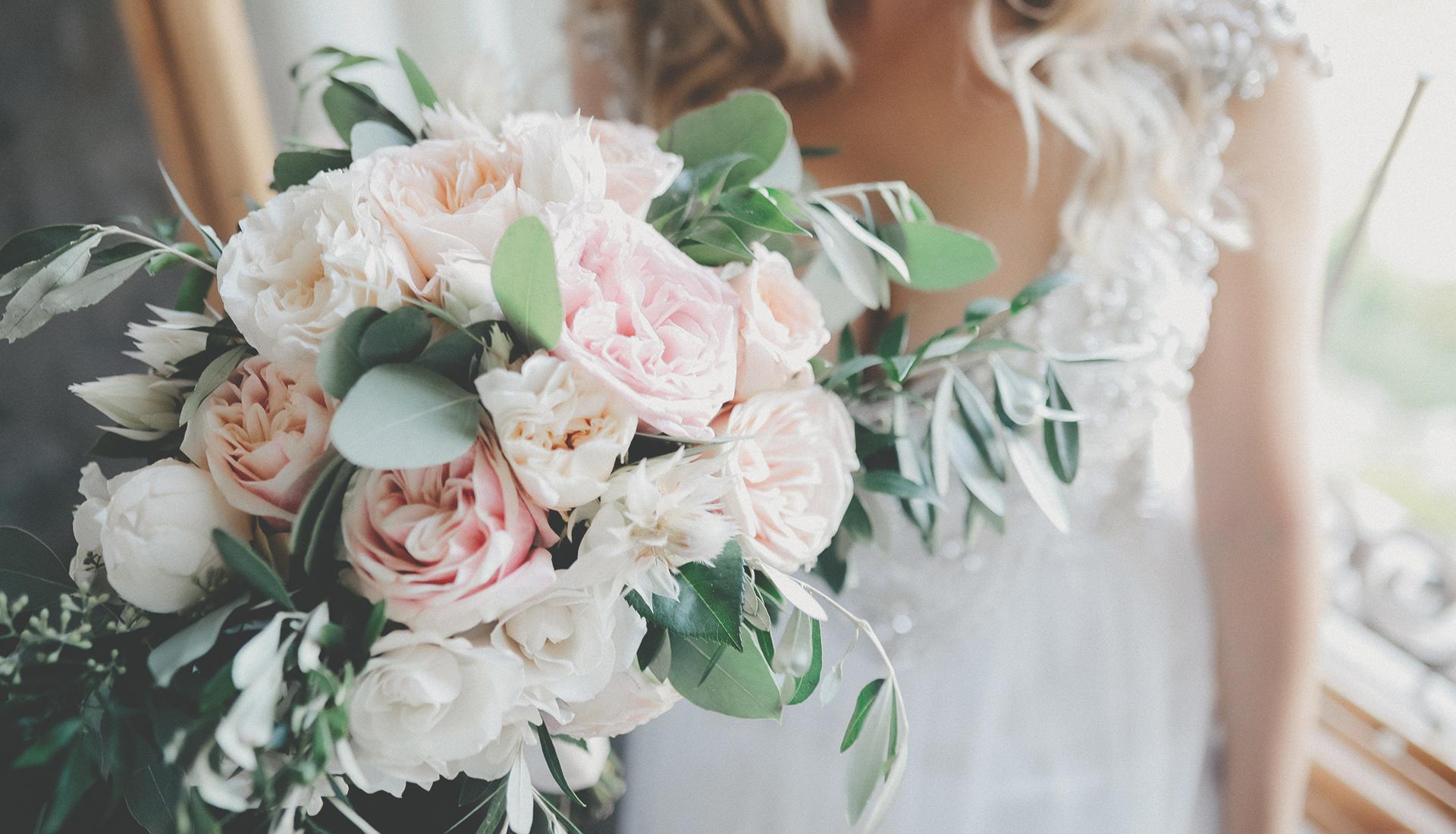 Brautstrauß, Heiraten, Gardasee, Hochzeitsdeko