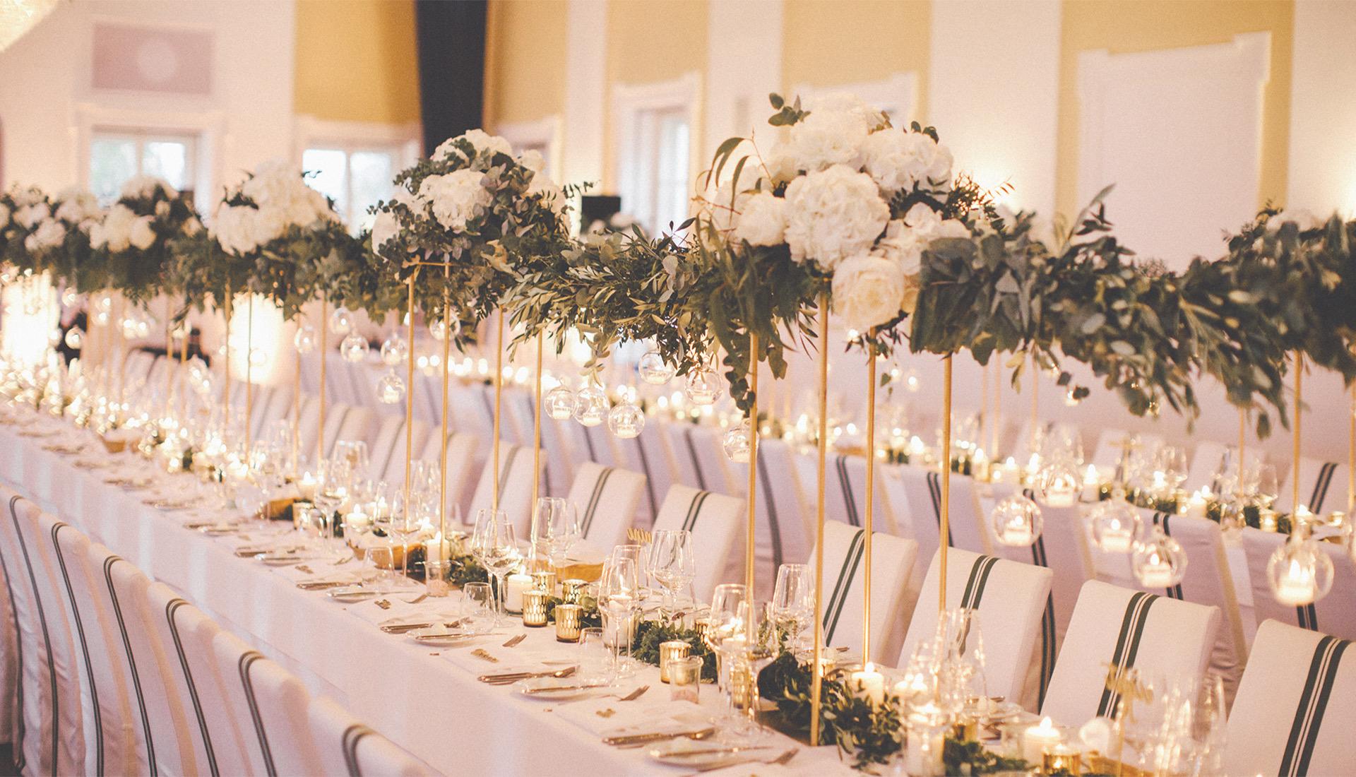 Hochzeitsdeko,Tischdeko, Salzburg, Gwandhaus